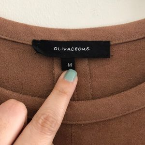 Olivaceous Dresses - Olivaceous Mini Dress